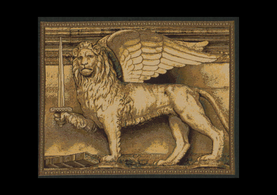 The Winged Lion with sword
