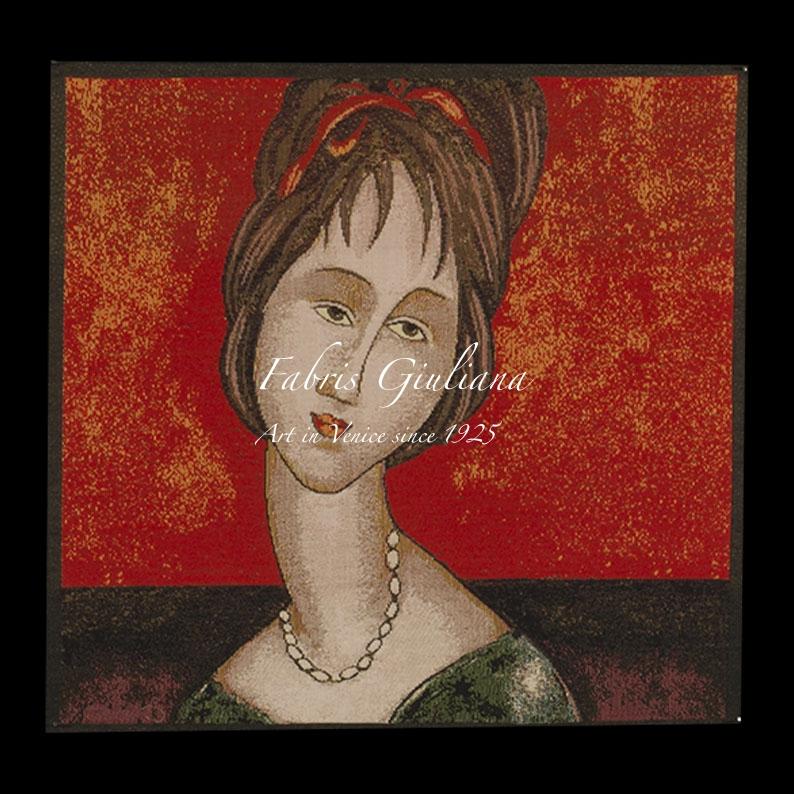 Portrait of a woman by Amedeo Modigliani