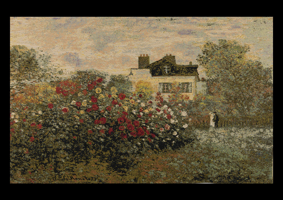House and Garden by Claude Monet